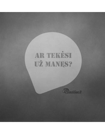 Ar tekėsi ?