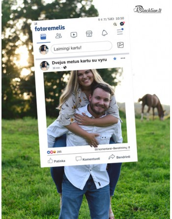 Asmeninis rėmelis - Facebook
