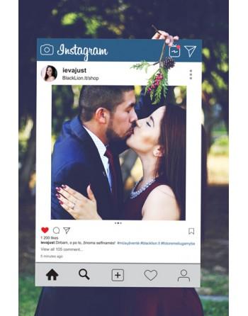 Asmeninis rėmelis - Instagram